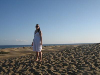 maria hansson på Gran Canaria